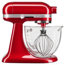 Artisan® Mini Design Series 3.5 Quart Tilt-Head Stand Mixer - Candy Apple Red