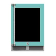 "24"" Hestan Outdoor Dual Zone Refrigerator with Wine Storage (UV-Coated Glass Door) - GRWG Series - Bora-bora"