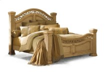 Cordoba Antiguo Blanco Queen Mansion Bed
