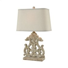 Bethnal Table Lamp In Parisian Stone