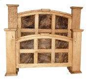 King Cowhide Mansion Bed Product Image