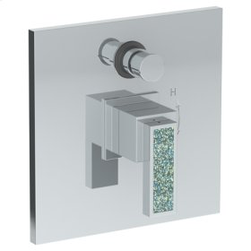 Wall Mounted Pressure Balance Shower Trim With Diverter, 7 1/2""