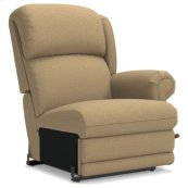Kirkwood Left-Arm Sitting Reclina-Rocker® Recliner w/ Brass Nail Head Trim