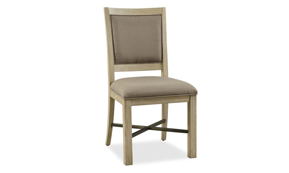 Hideaway Upholstered Side Chair Hidden