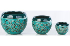 Diving Cachepot - Set of 3