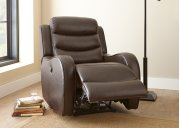 "Wyatt Power Recliner Chair, Brown, 35""x39""x40"" Product Image"