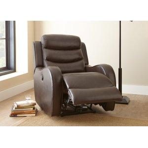 "Steve Silver Co.Wyatt Power Recliner Chair, Brown, 35""x39""x40"""