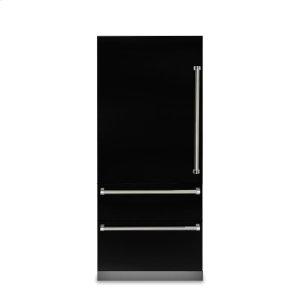 "Viking36"" Fully Integrated Bottom-Freezer Refrigerator, Left Hinge/Right Handle"