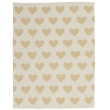 "Plushlines Uk961 Gold 30"" X 40"" Throw Blanket"