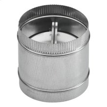 "7"" Round Damper for Range Hoods and Ventilation Fans"