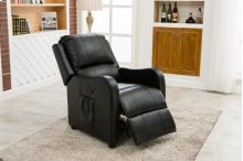 Denali Black Power Recliner Chair