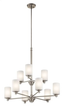 Joelson 9 Light Chandelier Brushed Nickel