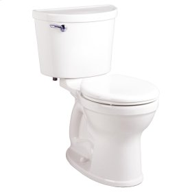Champion PRO Right Height Round Front Toilet - 1.28 GPF - White