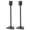 Sanus Black Wireless Speaker Stands Designed For Sonos One, Play:1 And Play:3