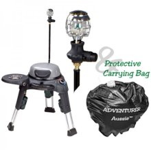 Adventurer with Side Burner, Lantern & Carry Bag