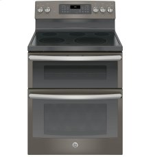 "SCRATCH & DENT- GE® 30"" Free-Standing Electric Double Oven Convection Range"