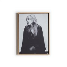 """40""""x60"""" Size Canvas + Natural Frame Style Stevie Nicks"""