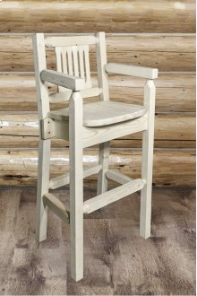 Homestead Captains Barstool with Back