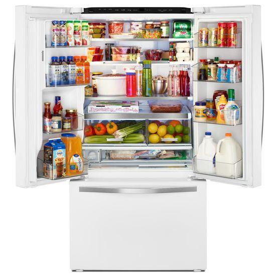 Hidden · Additional Whirlpool® 36 Inch Wide French Door Refrigerator With  Infinity Slide Shelf   32