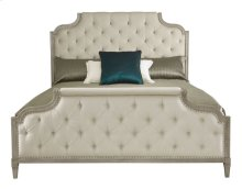 Queen-Sized Marquesa Upholstered Bed in Gray Cashmere (359)