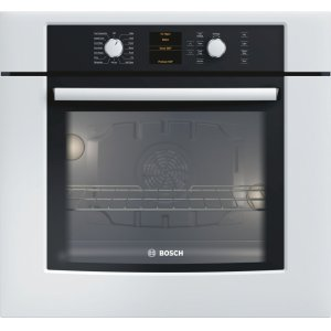 "Bosch30"" Single Wall Oven 500 Series White HBL5420UC"