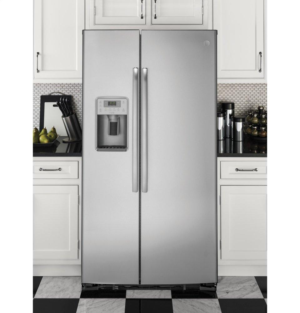 Charmant GE Profile Series 21.9 Cu. Ft. Counter Depth Side By Side Refrigerator