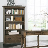 Cordero - Bookcase - Aged Oak Finish Product Image