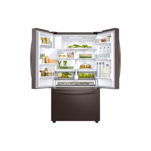 28 cu. ft. 3-Door French Door, Full Depth Refrigerator with CoolSelect Pantry in Tuscan Stainless Steel