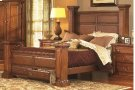 5/0 Queen Panel Bed - Antique Pine Finish Product Image