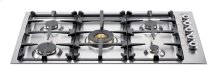 Stainless 36 Drop-in Low Edge Cooktop 5-Burner