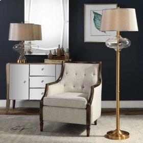 Jelani Brass Floor Lamp