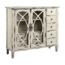 Briley 2-door 7-drawer Cabinet In White