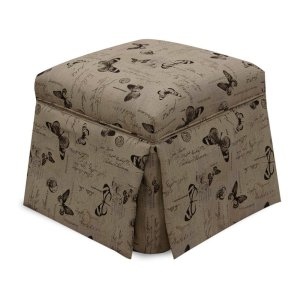 England Furniture Darlington Storage Ottoman 2f0081s