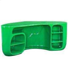 Impression Fiberglass Desk in Green