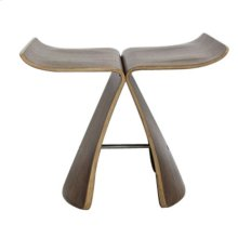Modrest Kasba Modern Walnut Stool