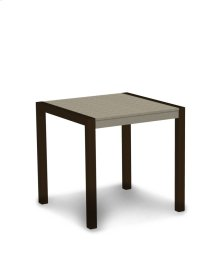 """Textured Bronze & Sand MOD 30"""" Dining Table"""