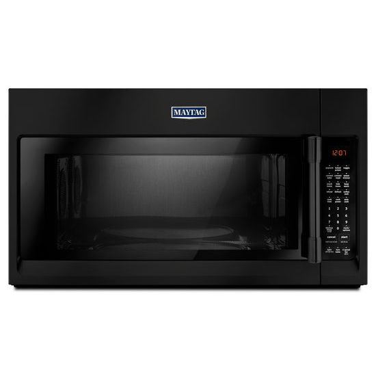 Maytag R Over The Range Microwave With Convection Mode 1 9 Cu Ft Black