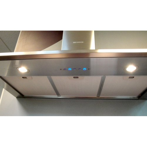 "36"" Synthesis - Wall Hood w/600 cfm Blower, LED controls"