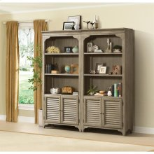 Myra - Bunching Bookcase - Natural Finish