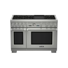 48 inch Professional Series Pro Grand Commercial Depth Dual Fuel Range PRD486JDGC