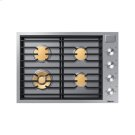 "30"" Drop-In Gas Cooktop, Graphite Stainless Steel, Natural Gas Product Image"