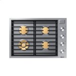 "Dacor30"" Drop-In Gas Cooktop, Stainless Steel, Natural Gas"