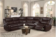 Left Side Reclining Love Seat