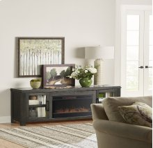 """Tybee 86"""" Fireplace Console"""