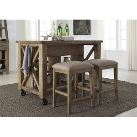 3 Piece Gathering Table Set
