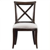 European Farmhouse - Fairleigh Fields Guest Chair In Terrain
