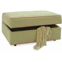 Storage Ottoman with Casters
