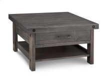 Rafters Coffee Table w/ 1 Drawer w/Shelf