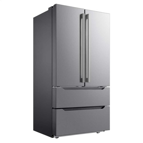 22.5 Cu. Ft. Counter-Depth 4-Door French Door Refrigerator