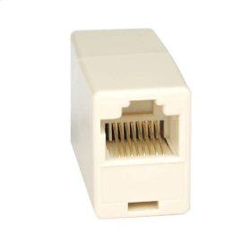 Telephone Straight Through Modular In-Line Coupler (RJ45 F/F)